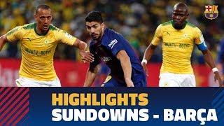 MAMELODI SUNDOWNS 1-3 BARÇA   Highlights