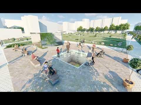 Визуализация археологического парка