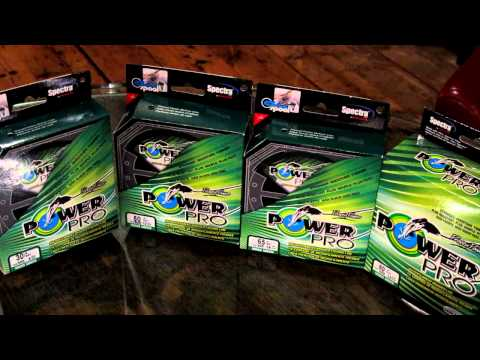 PowerPro Braided Fishing Line Review by Ocean State Tackle RI
