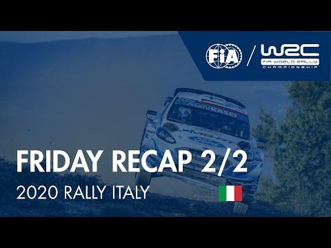 WRC ラリー・イタリア・サルディニア 金曜日に行われたラリーダイジェスト動画2