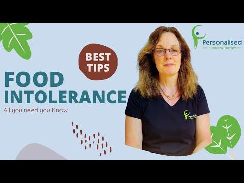 Food Intolerance Symptoms (voice)