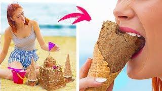 谁说土豆泥香肠冰淇淋是恶作剧食物,这是合二为一的美味好不好?