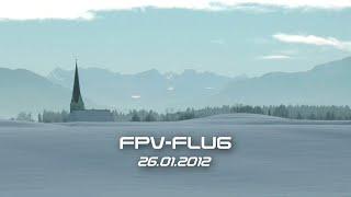 FPV-Flug mit fishbone 2.3