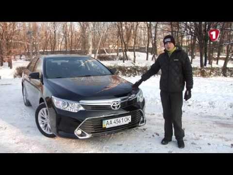 Toyota  Camry Седан класса E - тест-драйв 2