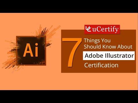 Adobe Certified Expert on Illustrator - YouTube