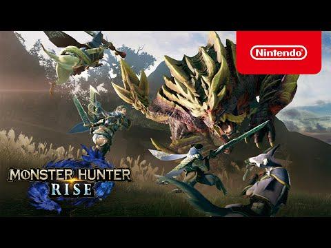 Trailer de présentation de Monster Hunter Rise
