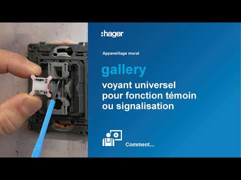 Voyant pour interrupteur gallery 230V rouge