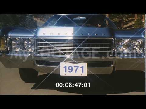1971 Chevrolet Car Impala The It Car (4K)