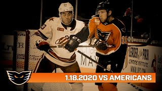 Americans vs. Phantoms | Jan. 18, 2020