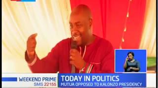 Alfred Mutua accused of undermining Kalonzo Musyoka by a section of Ukambani leaders