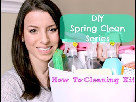 DIY Spring Cleaning Series | Natural Cleaning Supplies, Tips + More!