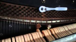 How to tune a piano. Do it yourself.