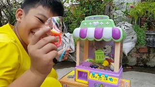 Trò Chơi Máy Gắp ❤ ChiChi Kids TV ❤ Đồ Chơi Trẻ Em Baby Crane Machine Toys