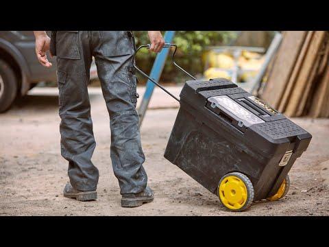 Transportez vos outils - Coffre de chantier Contractor
