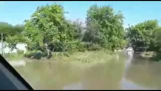 Потоп Едем по краснодарскому краю станица Михайловская 2017 год МАЙ