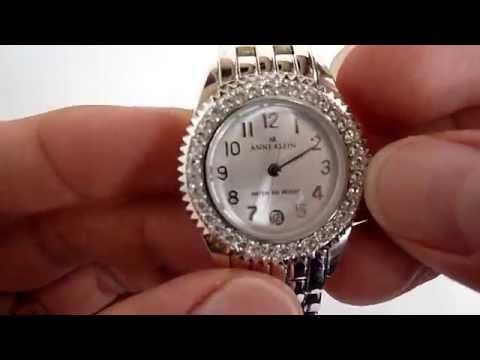 (A LA VENTA) Reloj Anne Klein Para Dama, Caja Y Pulso De Acero