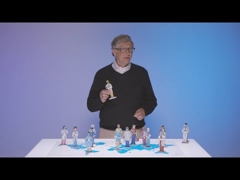 Bill Gates calls for 'mega testing' and global disease alert system to prevent the next pandemic