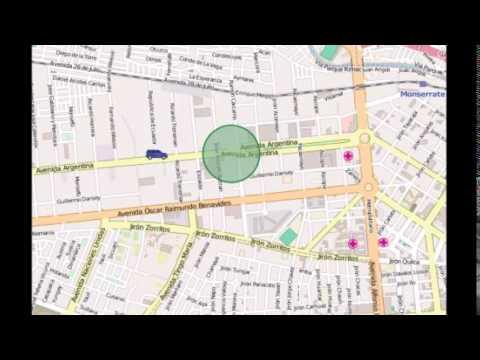 Sonido Unidad Ingresando a Geozona, GPS