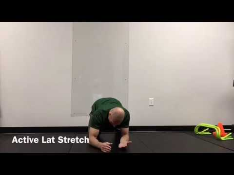 Active Lat Stretch