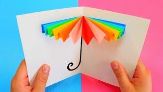 5 потрясающих открыток своими руками.