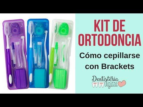 Kit de Ortodoncia y Cómo cepillarse los dientes con Brackets