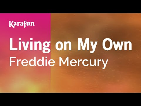 Karaoke Living on My Own - Freddie Mercury *