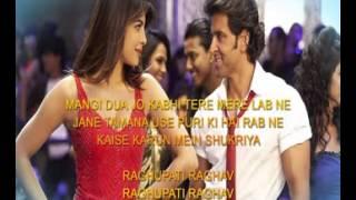 Raghupati Raghav Raja Ram Lyrics Krrish 3 2013 - YouTube
