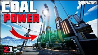 Coal Mine, Coal Generator COAL POWER! Satisfactory Gameplay Ep.7   Z1 Gaming