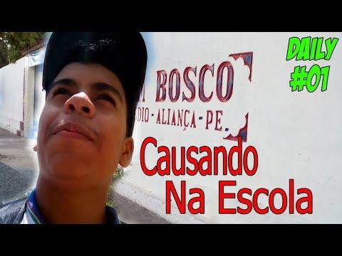 Daily Vlog : Causando Na Escola Em Aliança #01