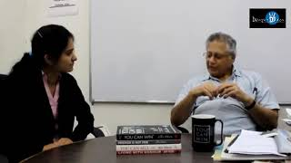 Mr. Shiv Khera's Interview with DiscoverDU