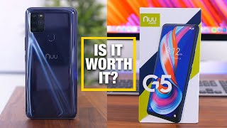 NUU Mobile G5 - Is This $150 Amazon Phone Worth It?