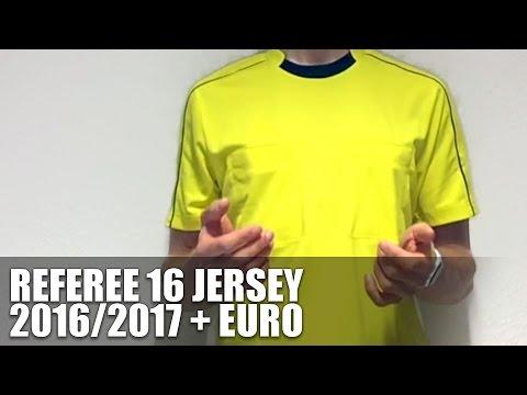 Adidas Referee 16 Jersey (Schiedsrichter Trikot) Euro 2016 + 2016/2017