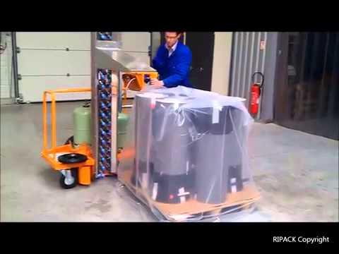 Schrumpfsäule Ripack Turbopack 970 von H+D