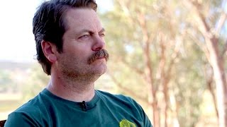 Simply Genius Shower Thoughts with Nick Offerman   Mashable