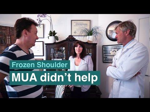 An MUA procedure did not help this frozen shoulder sufferer!