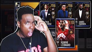 GRINDING OUT THE NEW NBA AWARDS PROMO IN NBA LIVE MOBILE!!!