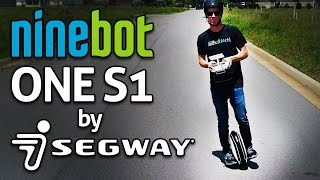 SUPER FUN SEGWAY UNICYCLE!! Ninebot One S1 REVIEW! One Wheel