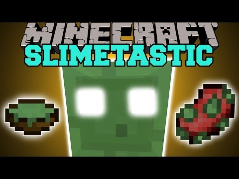 Minecraft: SLIMETASTIC (GODSLIMA & MACHINE THAT KILLS EVERYTHING!) Mod Showcase