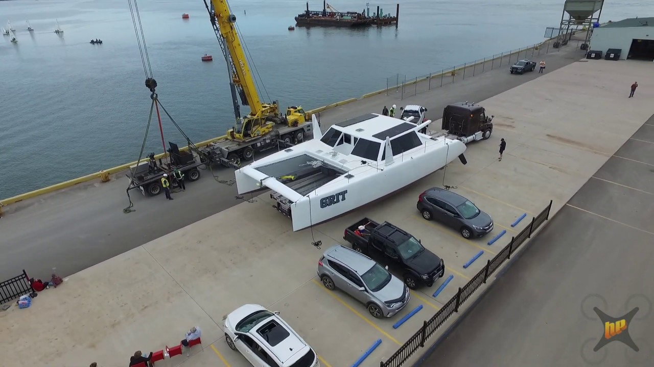 Catamaran Launch