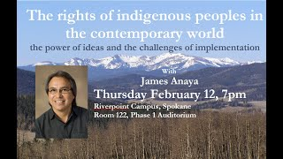 The rights of indigenous peoples - James Anaya
