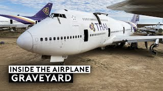 What Happened Inside the Airplane Graveyard?