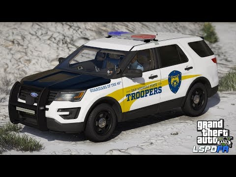 GTAV-LSPDFR Day-328, BCSO Traffic stop gone wrong! Road to