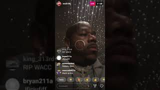 Wack100 Live Talks About Nipsey @ Game Video Shoot