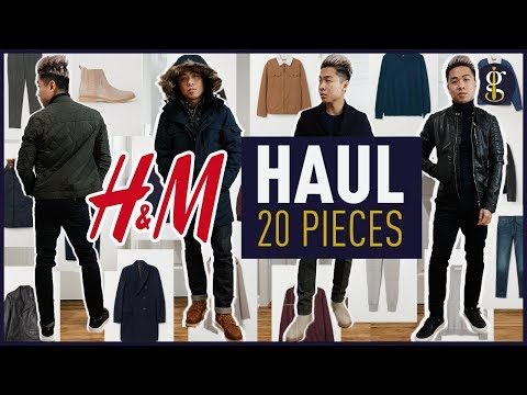 H&M MEGA TRY ON HAUL Fall/Winter 2018 - 2019   Men's Outfit Inspiration & Lookbook