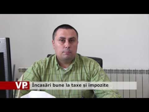 Încasări bune la taxe și impozite