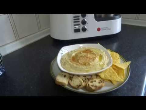 Hummus de Garbanzos Monsieur Cuisine Plus Lidl Silvercrest