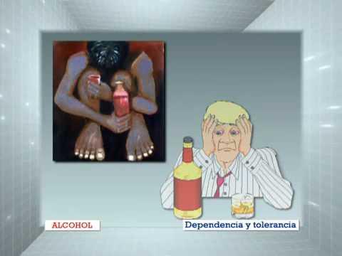 El alcoholismo el pinchazo bajo la espátula