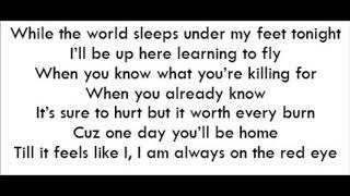 Red Eye - Andy Grammer (Lyrics)