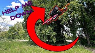 FPV | 1200€ stuck in a tree! ????