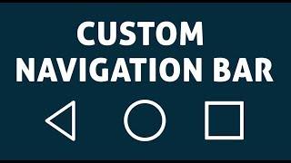 Custom Navigation Bar - Navbar Customize